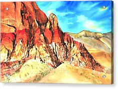 Red Rock #1 Acrylic Print