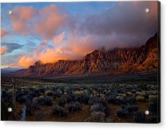 Red Rock Canyon National Conservation Area Las Vegas Acrylic Print