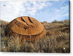 Red Rock Coulee I Acrylic Print by Leanna Lomanski
