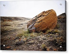 Red Rock Coulee IIi Acrylic Print by Leanna Lomanski