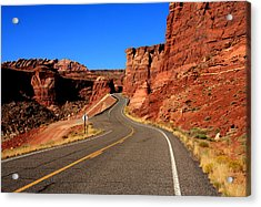 Red Rock Country Acrylic Print