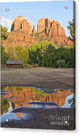 Red Rock Crossing Acrylic Print by Ruth Jolly