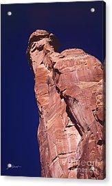 Red Rock Spier Acrylic Print