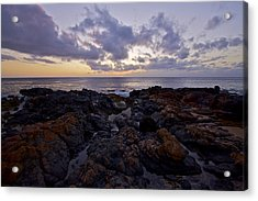 Red Rock Sunset Acrylic Print by Brian Governale