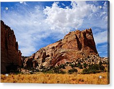 Red Rocks Acrylic Print by Donald Fink