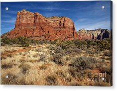 Red Rocks Of Sedona Acrylic Print