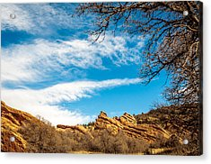 Red Rocks View 001 Acrylic Print