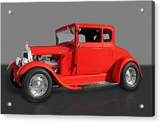 1930 Ford Acrylic Print by Frank J Benz