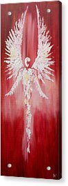 Red Sentinel Acrylic Print