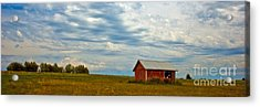 Red Shed Acrylic Print