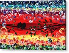 Red Skies Acrylic Print
