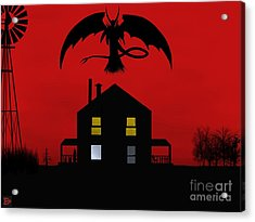 Red Sky At Night... Acrylic Print