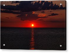 Red Sky At Sunrise 1 Acrylic Print