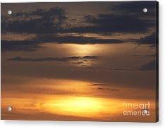Red Sky - Gloaming Acrylic Print by Michal Boubin
