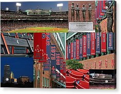 Red Sox Nation Acrylic Print by Juergen Roth