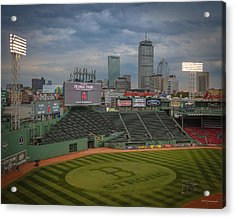 Red Sox Strong Acrylic Print