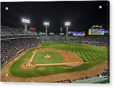 Red Sox Vs Yankees Fenway Park Acrylic Print