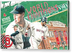Red Sox World Champions Acrylic Print