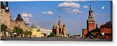 Red Square, Moscow, Russia Acrylic Print by Panoramic Images