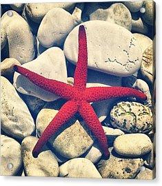 Red Star! Acrylic Print