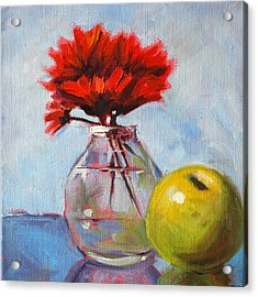 Red Still  Acrylic Print