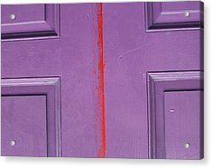 Red Stripe Acrylic Print