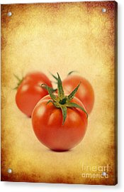 Acrylic Print featuring the photograph Red Tomato by Mohamed Elkhamisy