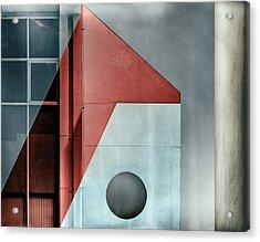 Red Transparency. Acrylic Print by Harry Verschelden