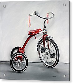 Red Tricycle 1 Acrylic Print