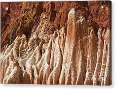 red Tsingy Madagascar Acrylic Print by Rudi Prott