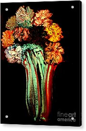 Red Vase Revisited Acrylic Print