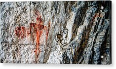Red Warrior Acrylic Print by Chad Dutson