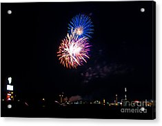 Red White And Blue Acrylic Print