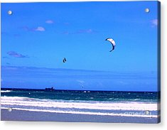Redbull King Of The Air Cape Town South Africa Acrylic Print by Charl Bruwer