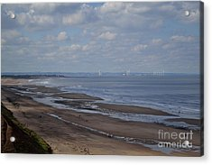Redcar From A Distance Acrylic Print