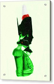 Redcoat - 2 Acrylic Print by Charlie Ross