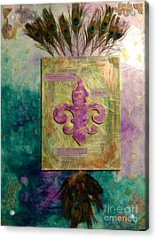 Redeeming The Time Acrylic Print by Michelle Bentham
