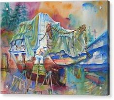 Redemption Ilwaco Wa Acrylic Print
