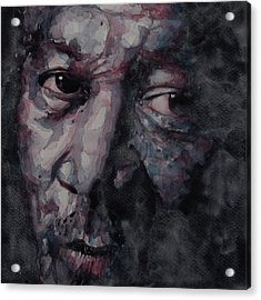 Redemption Man Acrylic Print by Paul Lovering