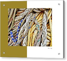 Redes 5 Acrylic Print by Xoanxo Cespon