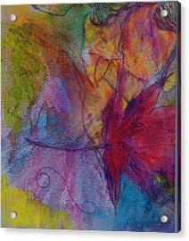 Redgum In Spring Breezes Acrylic Print by Claudia Smaletz