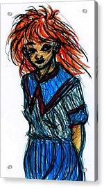 Redhead II Acrylic Print