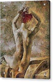 Redhead Mary Acrylic Print
