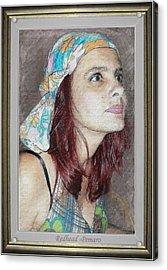 Redhead Acrylic Print by Pemaro