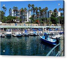 Redondo Beach Marina Acrylic Print