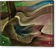 Redrockspalmfrondcomp 2010 Acrylic Print
