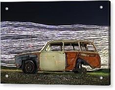 Redwhiteblue Acrylic Print