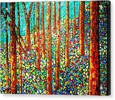 Redwood Hillside Acrylic Print