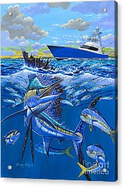 Reef Sail Off00151 Acrylic Print by Carey Chen