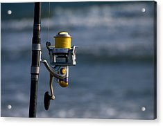 Acrylic Print featuring the photograph Reel Excitement by Greg Graham